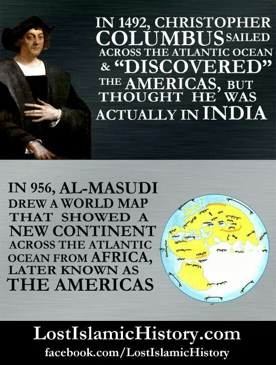In 956, AL Masudi.....