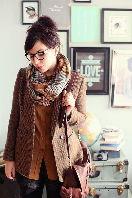 blazer - c/o Jones New York   shirt - Equipment   shorts - Madewell   scarf - Zara  Marquis glasses - c/o BonLook  Emory Oxfords - c/o Sperry