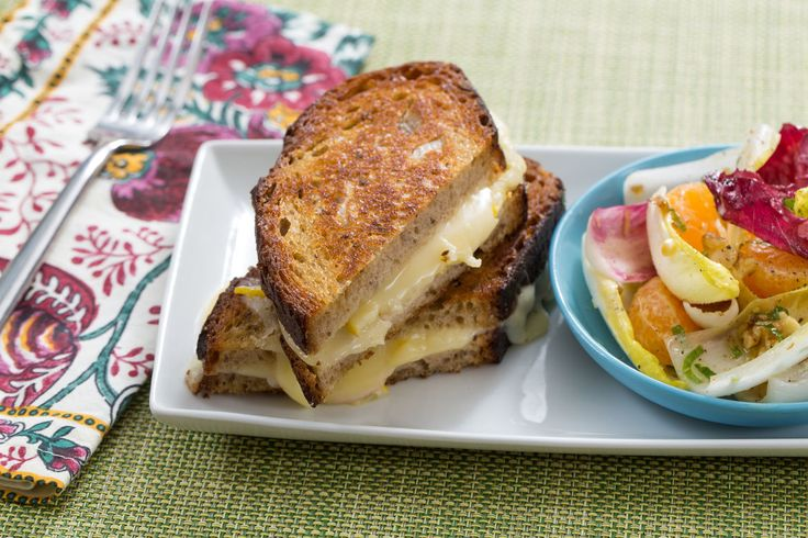 Fontina & Preserved Lemon Grilled Cheese Sandwiches with Endive ...