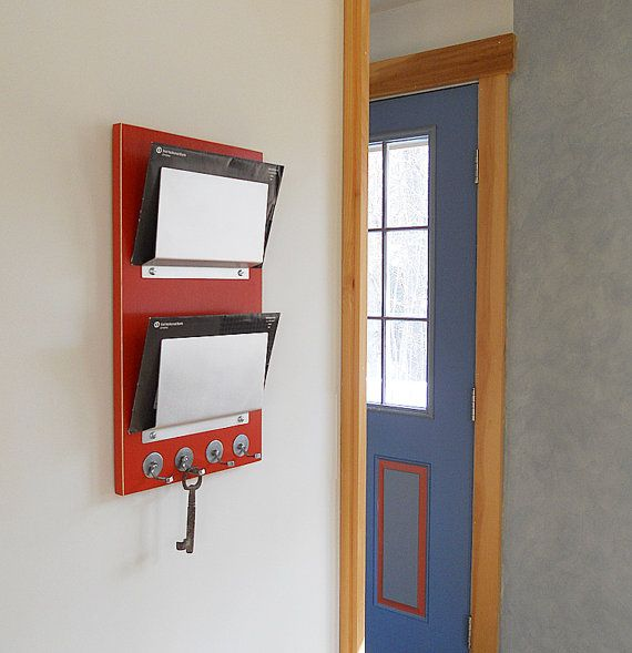 Wall Organizer Tango Double Mount Mail Letter By Pigandfish 98 00