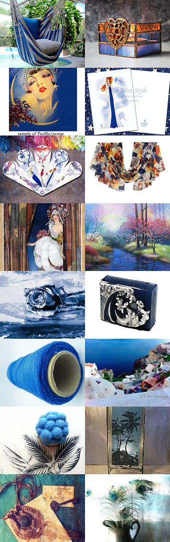Blue Finds by Debra on Etsy--Pinned+with+TreasuryPin.com