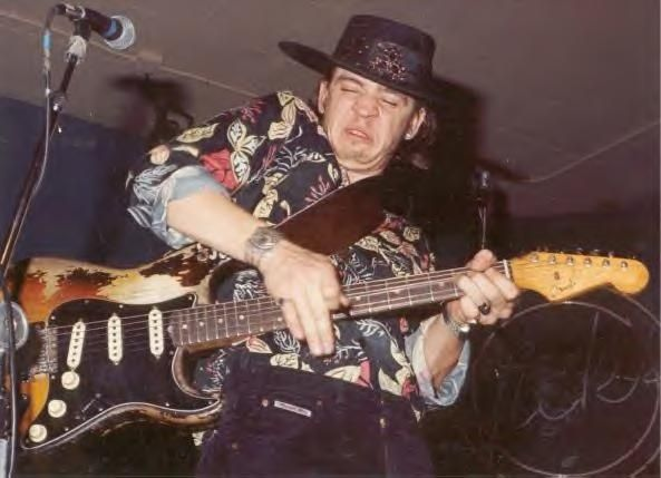 stevie ray vaughan playing fender stratocaster | in america during his life andsince his death. Stevie Ray Vaughan ...