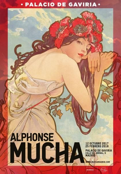 Exposición Alphonse Mucha en Madrid   ticketea