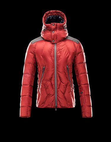 MONCLER GRENOBLE KANGRI Jacket in light, glossy nylon, resin-coated for guaranteed waterproofing. Wind proof gaiter at bottom