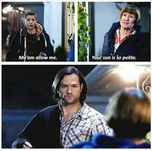 #Supernatural - Season 10 Episode 12 >> Sam's face, I just can't