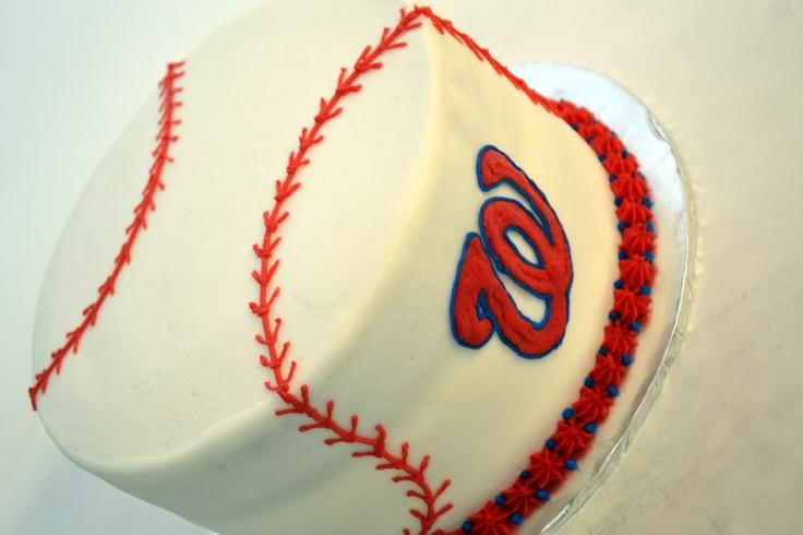 washington nationals cake