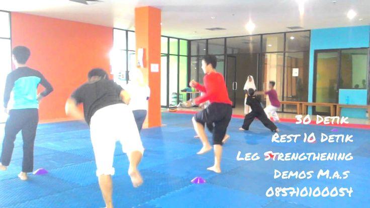 Taekwondo phisical training (latihan fisik taekwondo)