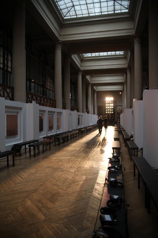 #YSL F/W 12-13 womenswear fashion show: preview the Galerie de Minéralogie et de Géologie, Jardin des Plantes, Paris