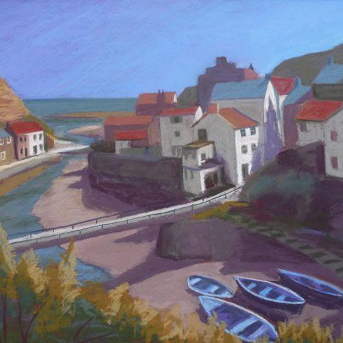 Sue Campion - Blue Boats
