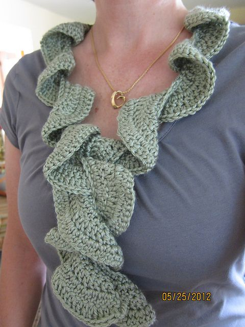 Knitting Pattern For Potato Chip Scarf : Ravelry: Potato Chip Scarf pattern by Lion Brand Yarn ...