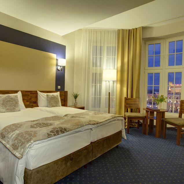 Hotel Piast Wrocław - double room #siecsilfor #silfor #hotelesilfor #hotelpiast…
