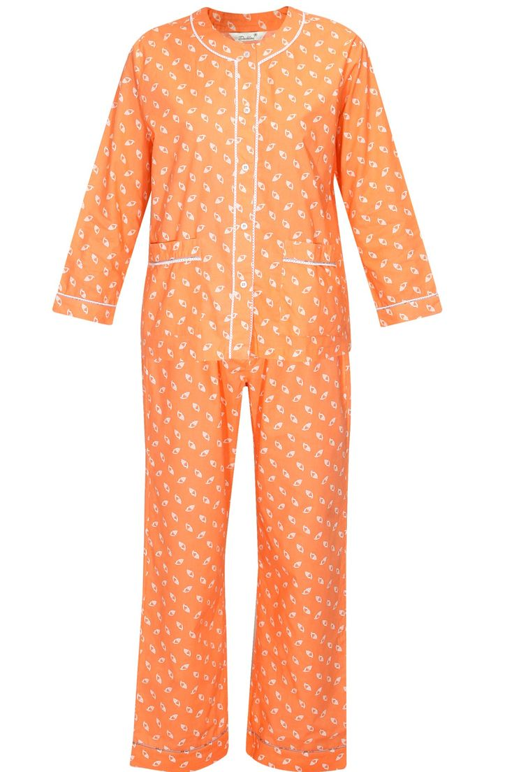Peach shell print night suit set available only at Pernia's Pop Up Shop..#perniaspopupshop #shopnow #newcollection  #dandeliondreams #comfortwear #nightwear #designer #clothing