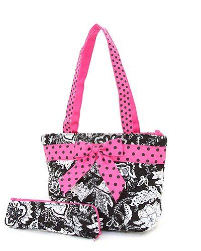 belvah quilted floral print lunch tote bag includes a spoon case lunch bags for women. Black Bedroom Furniture Sets. Home Design Ideas
