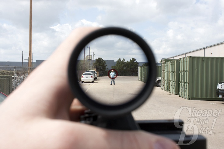 View Through A Burris Mtac Scope At 1x Ctd Mike At 25