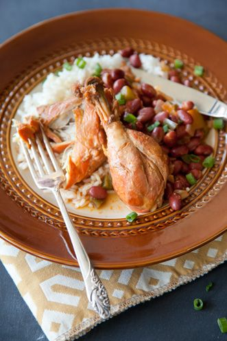 "Paula Deen ""Dee Dee's Home Run Chicken""- Pollo Guisado"