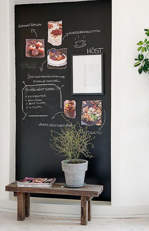 chalkboard nook (via Pinterest)