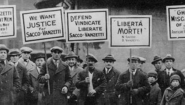 Vengono giustiziati Nicola Sacco e Bartolomeo Vanzetti