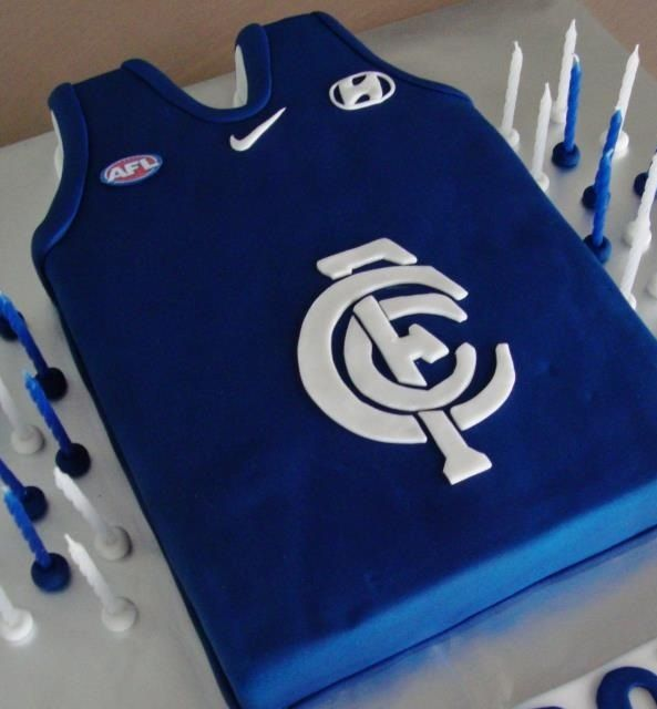 1000 Images About Afl Carlton Football Club Cakes