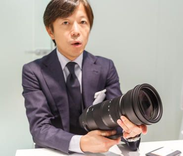 Under CEO Kazuto Yamaki, Sigma has helped transform the Japanese company so most of its revenue comes from higher-end products. Too bad about the camera business, though.