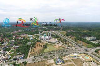 Mesjid Agung Madani Islamic Centre Rokan Hulu | RIAU DAILY PHOTO