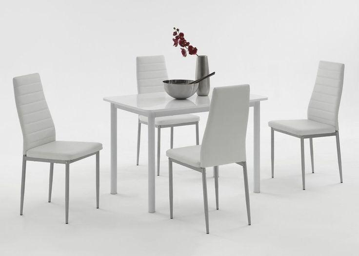 Esstisch stühle weiß  Die besten 20+ Esstisch mit 6 stühlen Ideen auf Pinterest   blau ...