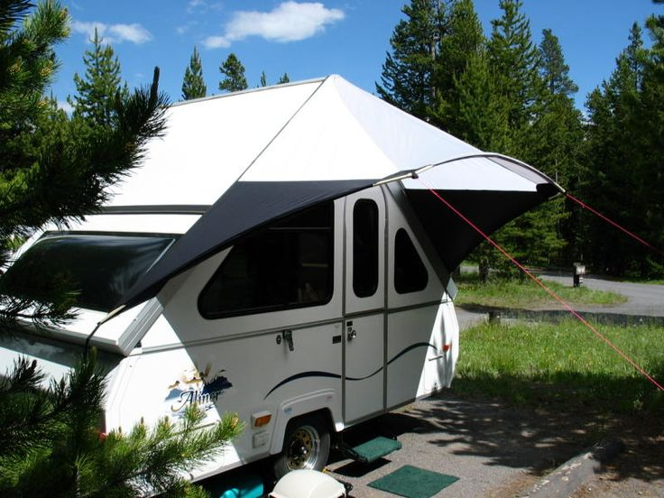 camper trailer setup instructions