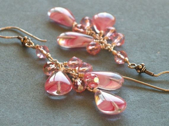 Frou Frou Czech glass Swarovksi crystals Balinese and