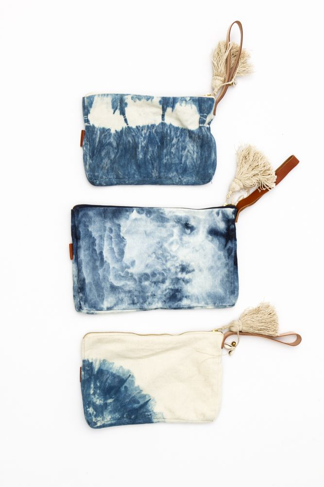 Dip Dyed Clutch