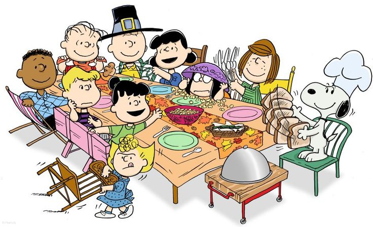 Peanuts Thanksgiving!! I missed it this year - wah! Wish I could get away with serving popcorn, toast & jelly beans for Thanksgiving dinner... hm.