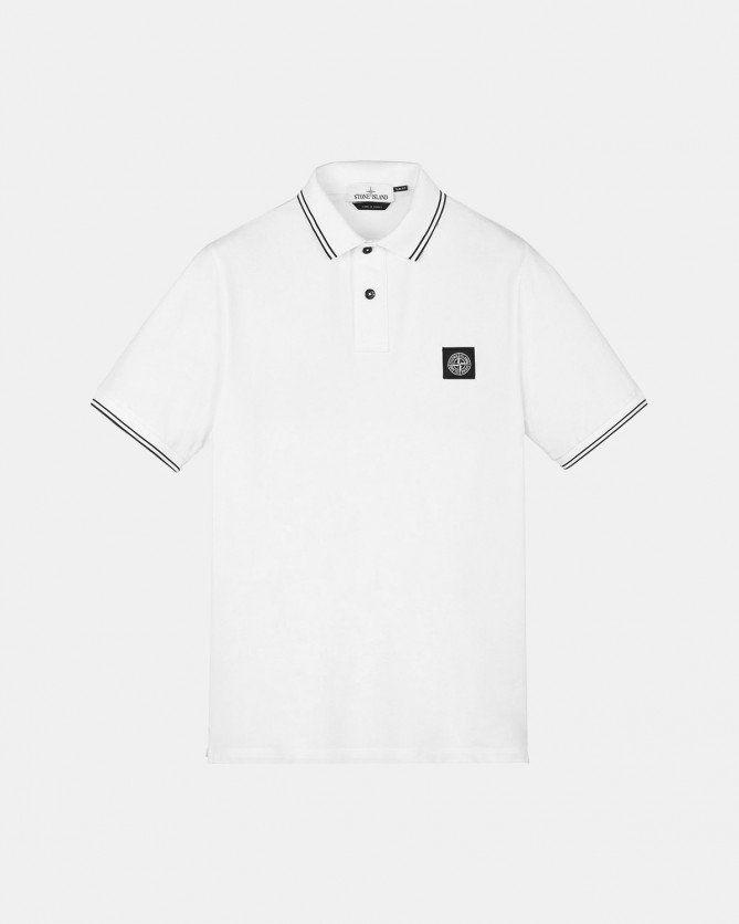 Stone Island Polo Shirt (Natural White)