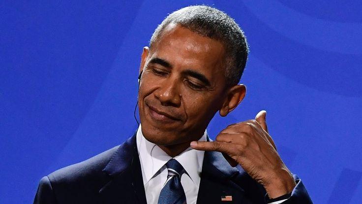 Ende der Amtszeit: Obamas letzter Anruf galt Merkel - SPIEGEL ONLINE - Nachrichten - Politik