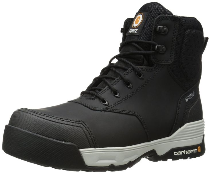 Carhartt Men's 6 Inch Force CMP Toe Work Boot *** Want to know more, visit the site now : Carhartt Boots