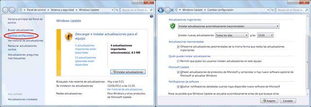 Configura del mejor modo las actualizaciones de Windows. Elige la forma en que deben instalarse. Hay varias opciones disponibles y puede convenirte más una distinta de la que Windows trae activada por defecto.