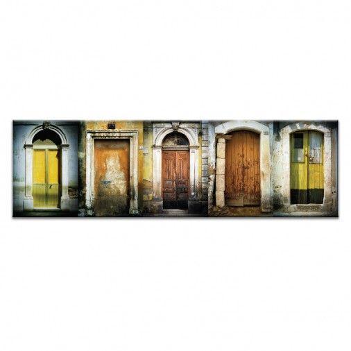 Doors of Italy - Le Porte Gialle by Joe Vittorio | Artist Lane