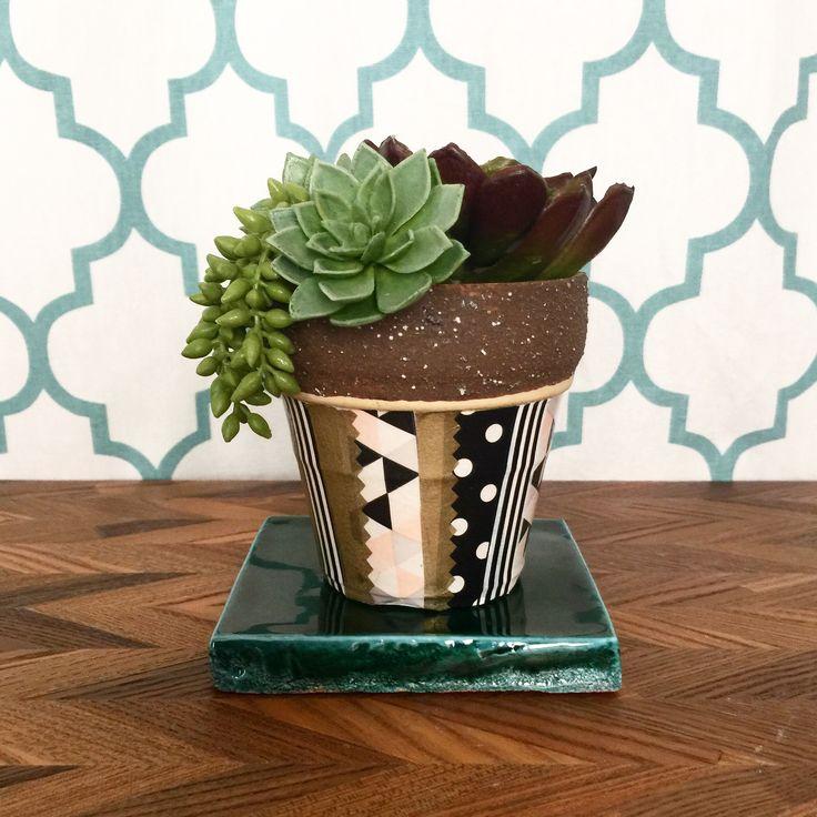 decopatch plants pot