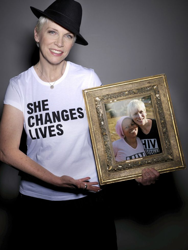 Annie Lennox is one of my goddesses.