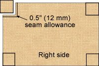 Sewing Fitted Sheets - Extremely Precise Instructions!