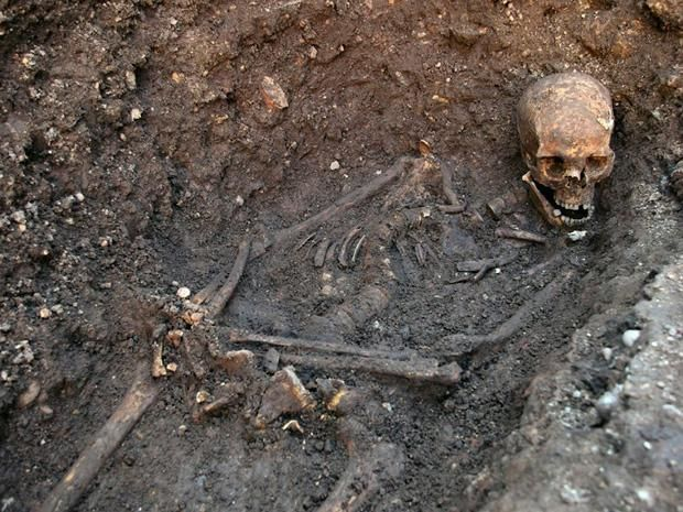 "The remains found underneath a parking lot last September at the Grey Friars excavation in Leicester, which have been declared ""beyond reasonable doubt"" to be the long lost remains of England's King Richard III."