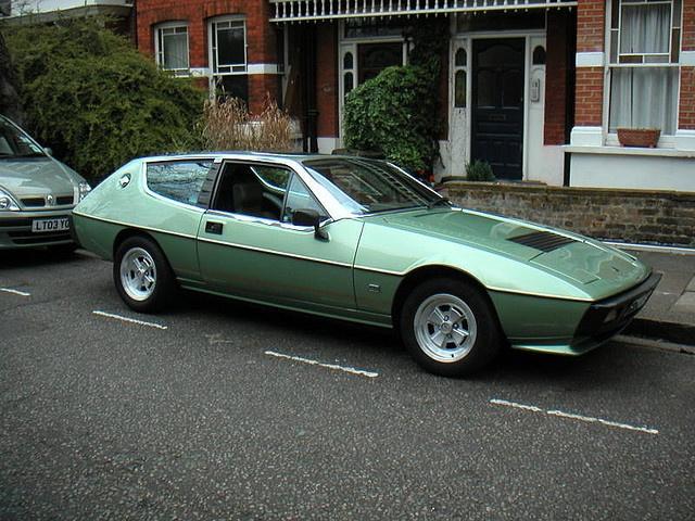 Nice Lotus Elite   Altair Green