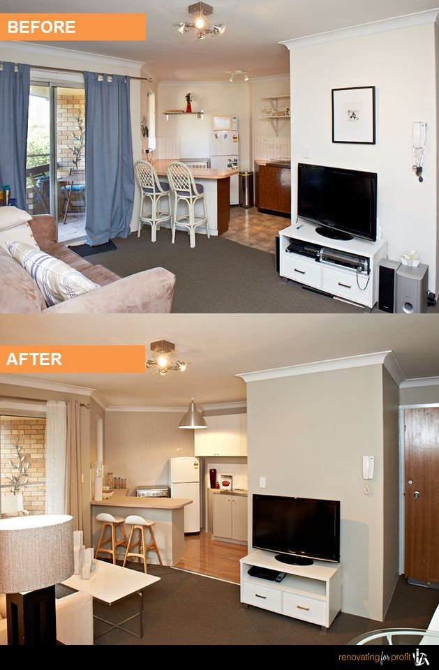 9 best renovation before after photos south windsor - Living room renovation before and after ...
