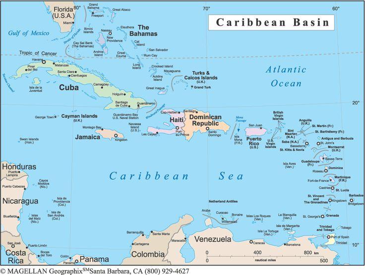 ✮ The Caribbean Islands So many islands. Many are uninhabited.