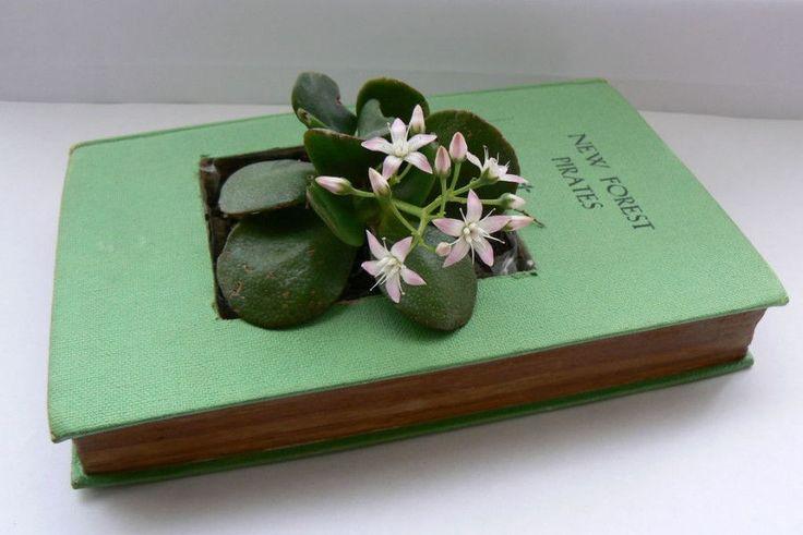 riciclare-vecchi-libri-vaso
