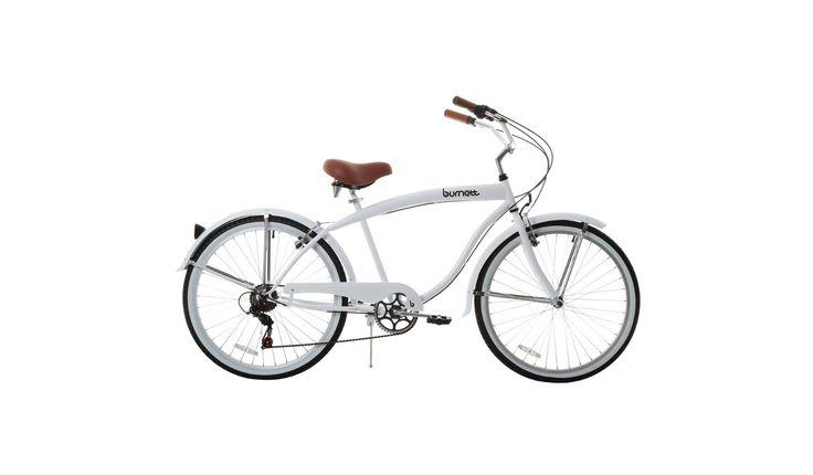 Bicicleta Burnett Retrô BRANCO - Paquetá Esportes - PaquetaEsportes
