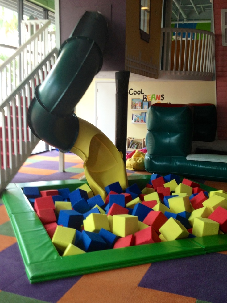 Loving the improvements at Cool Beans Play Cafe? We are! Slowly working on our new yellow slide.