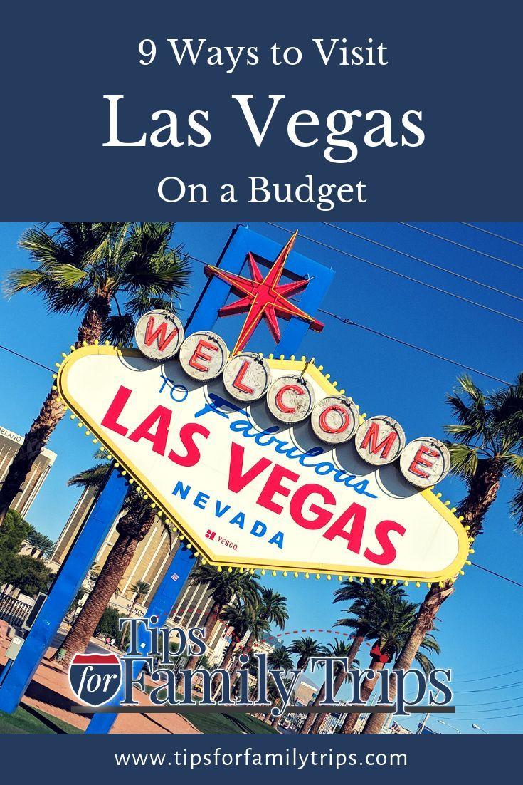 9 Ways To Do Las Vegas On A Budget Las Vegas Trip Las Vegas