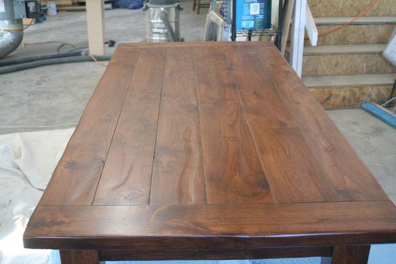 Alder Farm Table With Breadboard Ends Furniture