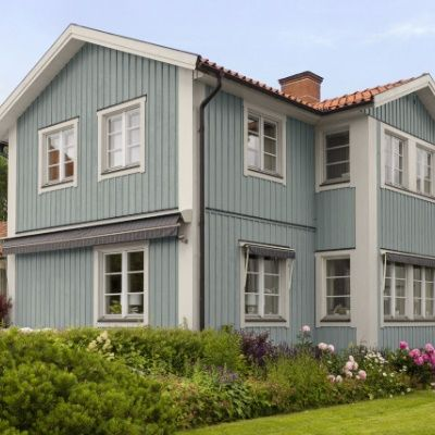 Blått hus -  Stoft 072 Kalk 012