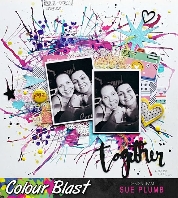 Look into my life: Together | Colour Blast | Sue Plumb