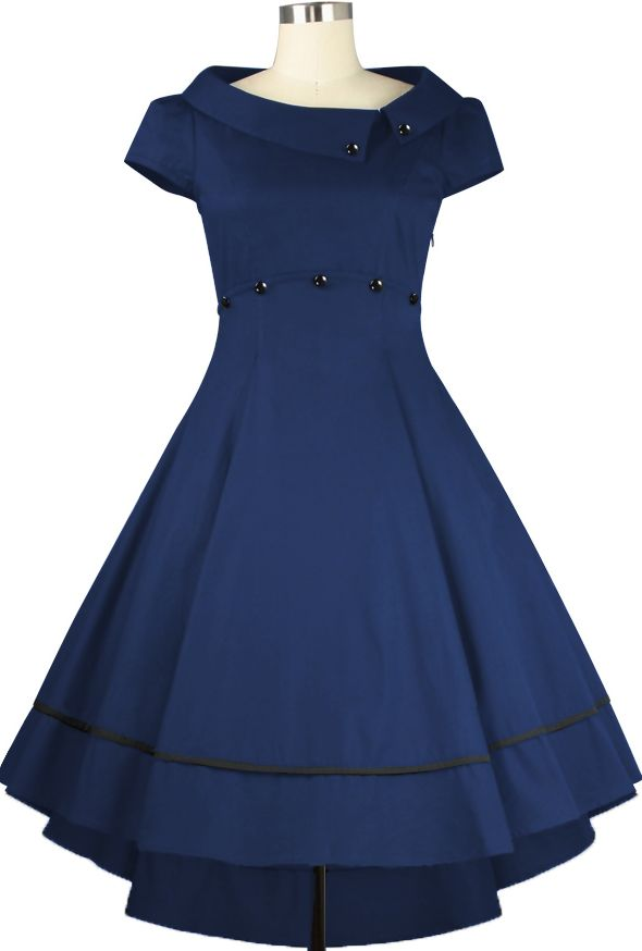 1950s inspired Dress - Chic Star Design by Amber Middaugh and Guylian K
