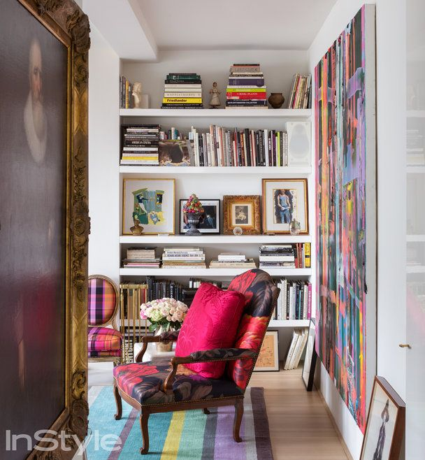 The designer and his husband, Arnold Germer, combined three small units to create their 4,000-square-foot abode.
